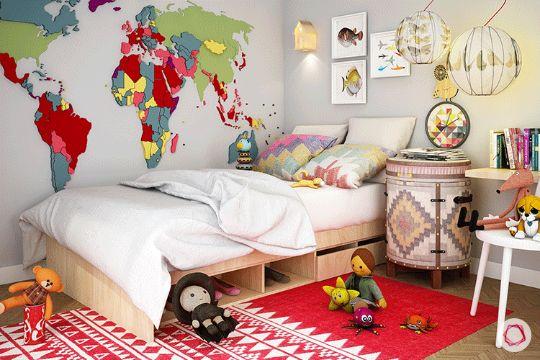 imagenes para decorar un cuarto para niños