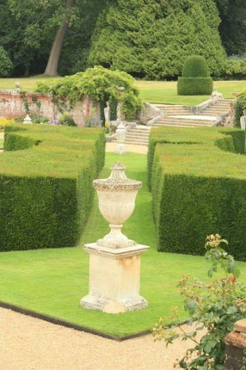 jardines de casas de campo esculturas
