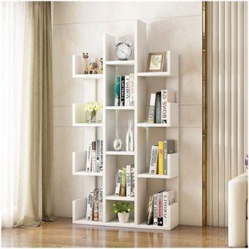 libreros modernos para salas minimalista