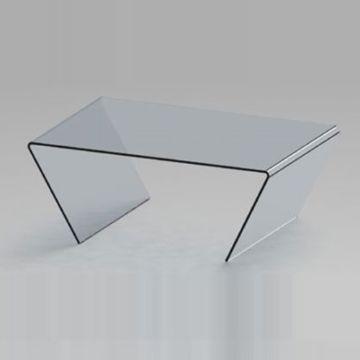 mesas de centro minimalistas de cristal