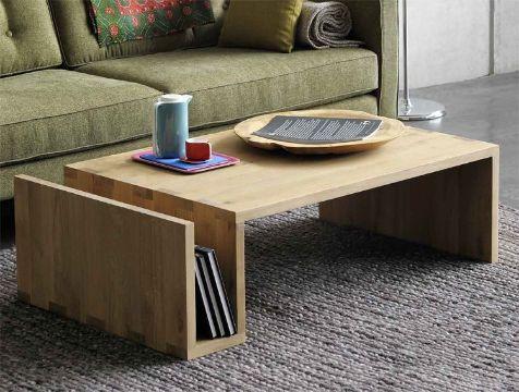 mesas de centro minimalistas funcionales