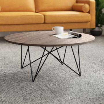 mesas de centro minimalistas patas de metal