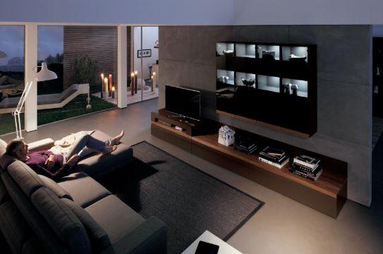 salas de entretenimiento modernas confort