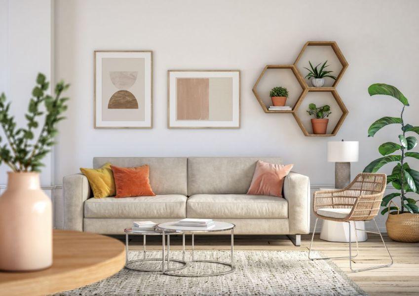adornos para la sala modernos para pared y mesas