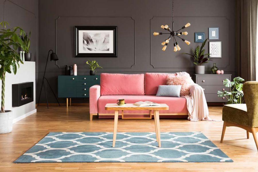 adornos para la sala modernos tapetes