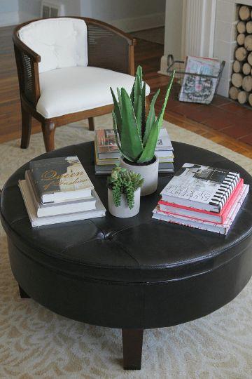 adornos para mesa de centro plantas interiores