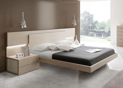 diseños de camas modernas geometricos
