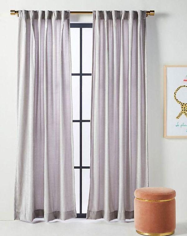 diseños para cortinas de sala colores modernos