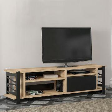 mesa de entretenimiento para tv de madera