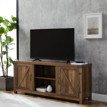 mesa de entretenimiento para tv rustico