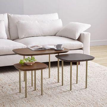 mesas de centro para sala conjuntos