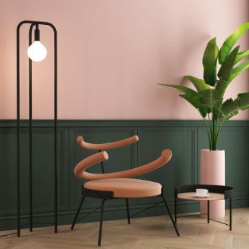 salas pintadas de verde arte