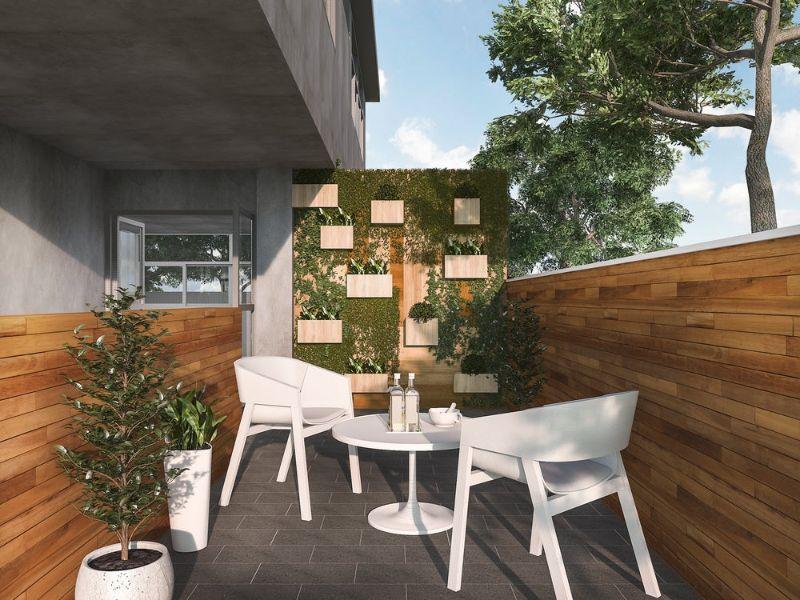 terrazas verano 2021 madera en los muros