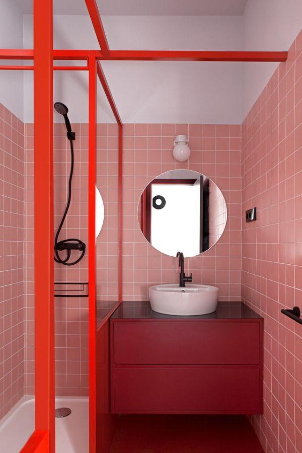 adornos para baños modernos colores