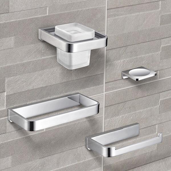 adornos para baños modernos metal