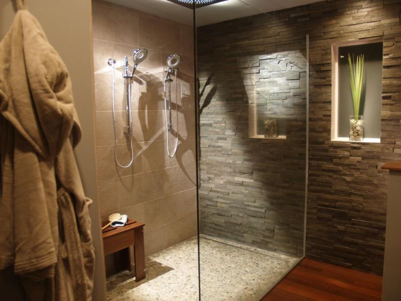 adornos para baños modernos piedra