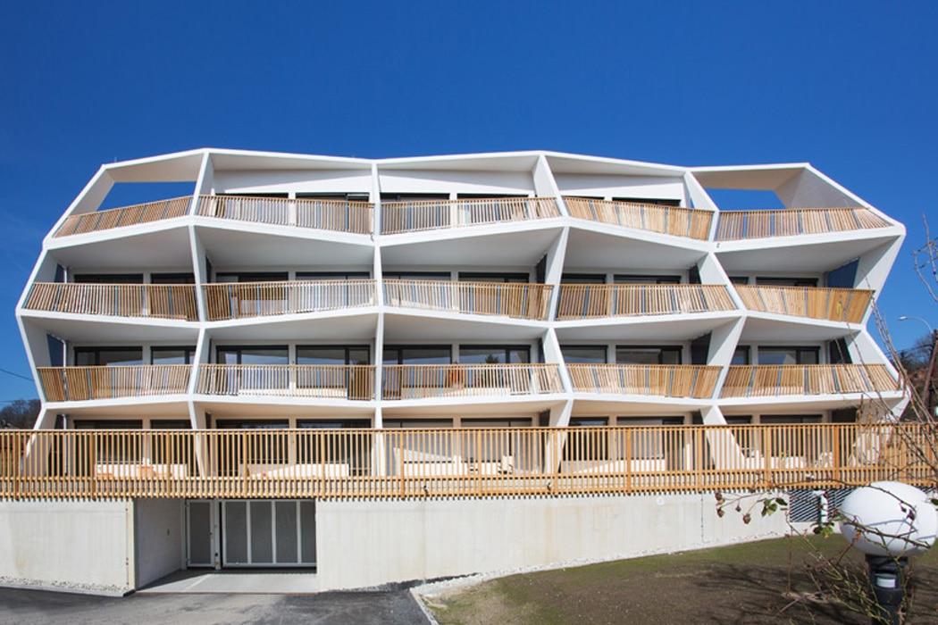 balcones modernos de concreto moderna estructura