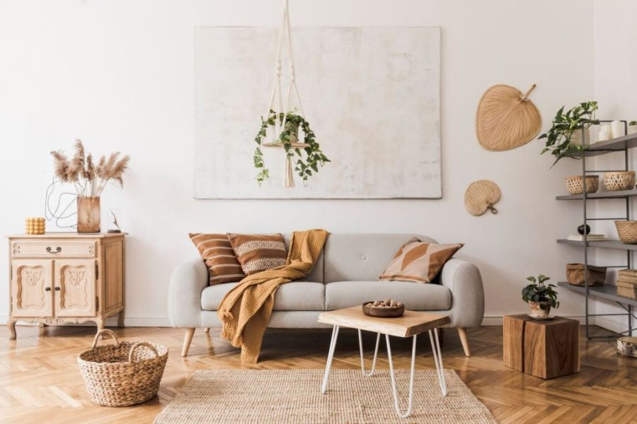 como decorar con plantas la casa colgantes y en repisas