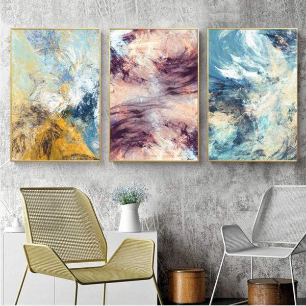 cuadros decorativos para sala conceptos a tres cuadros