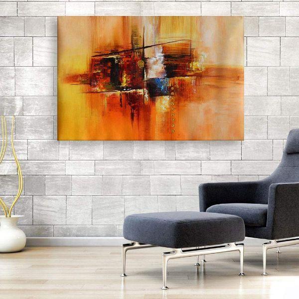 cuadros para salas modernos abstractos