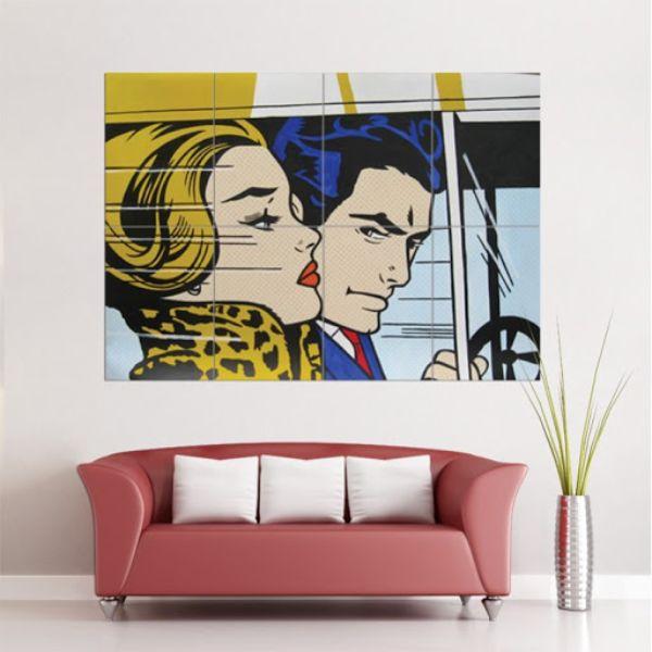 cuadros para salas modernos pop art