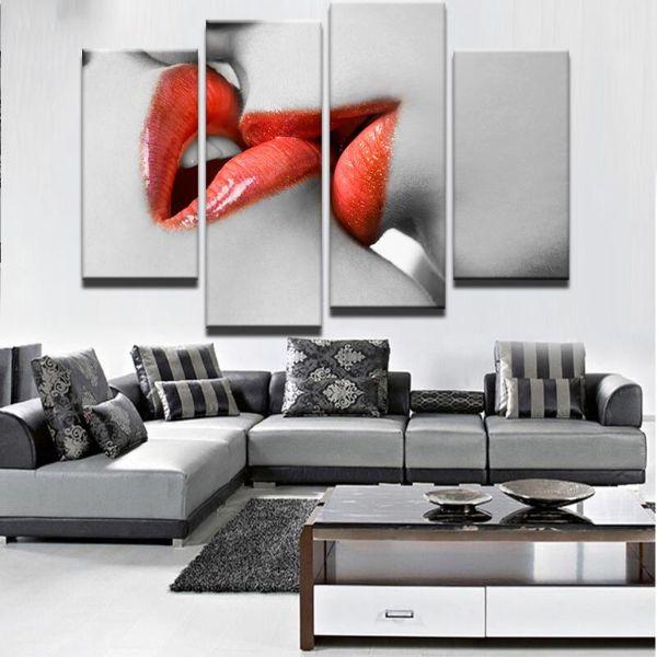 cuadros para una sala moderna fotografia