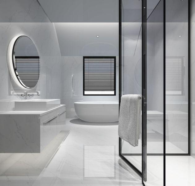 decoracion de banos modernos minimalista y luminosos