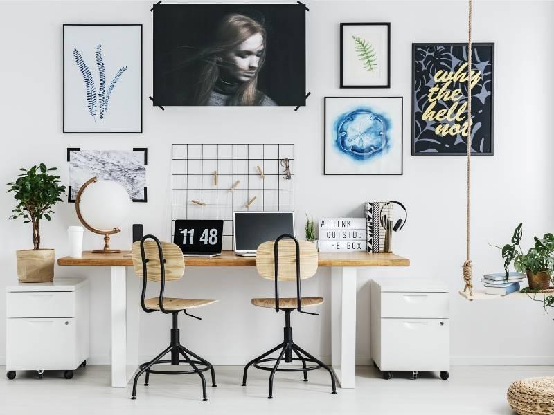 diseño de oficinas pequeñas decoracion moderna