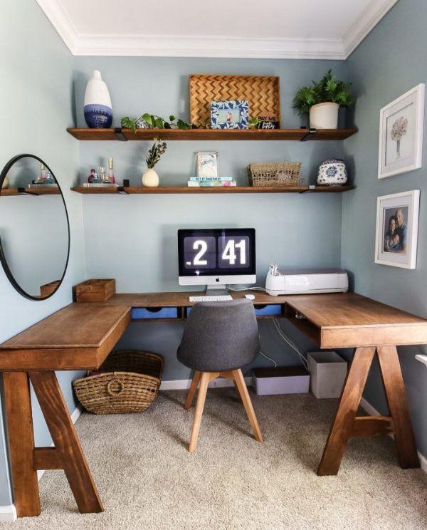 diseño de oficinas pequeñas rusticas
