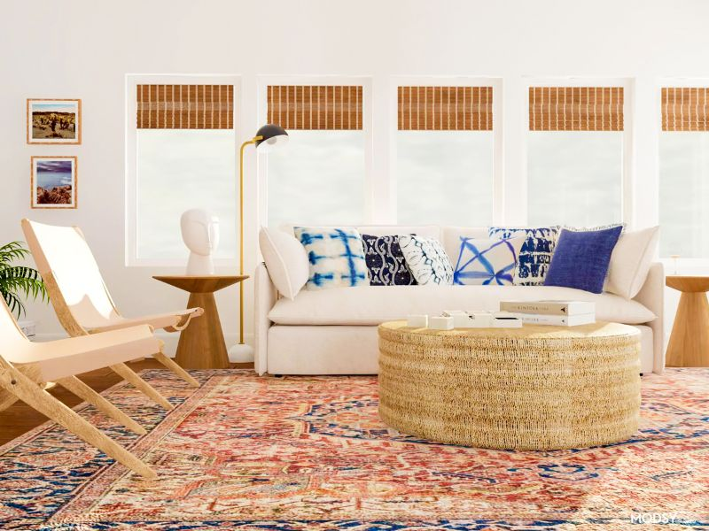 muebles estilo boho mesas y sillas