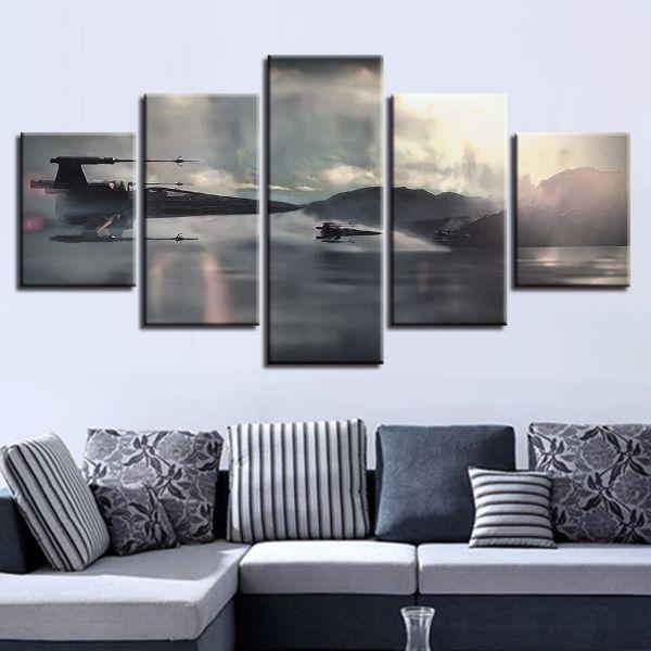 pinturas modernas para sala desarticuladas
