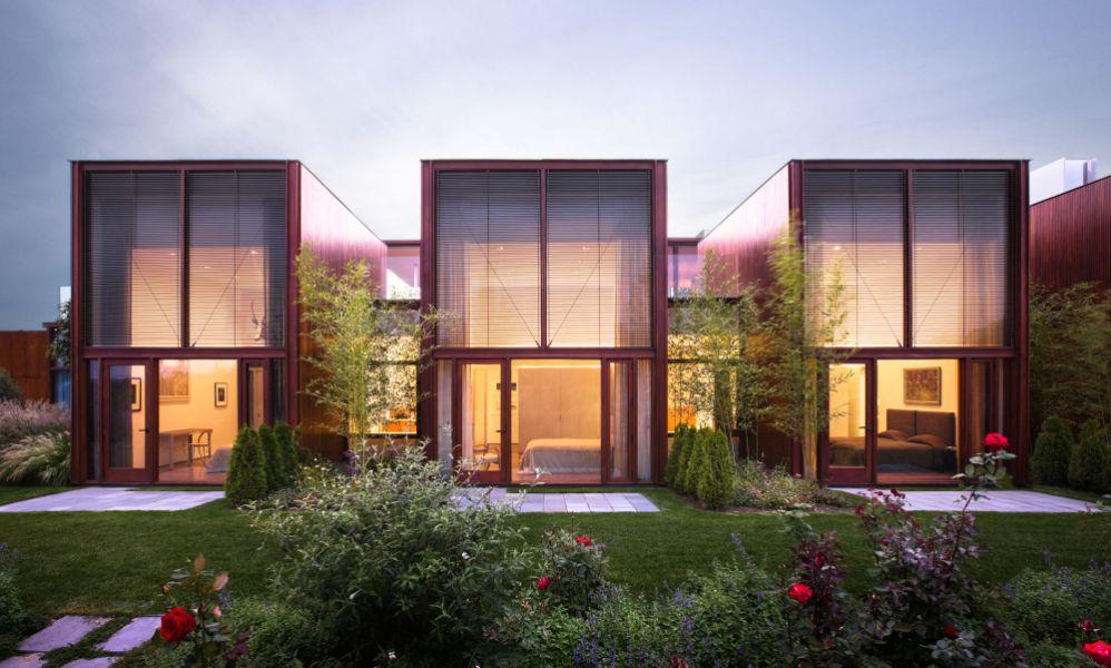 ventanas grandes en casas fachadas