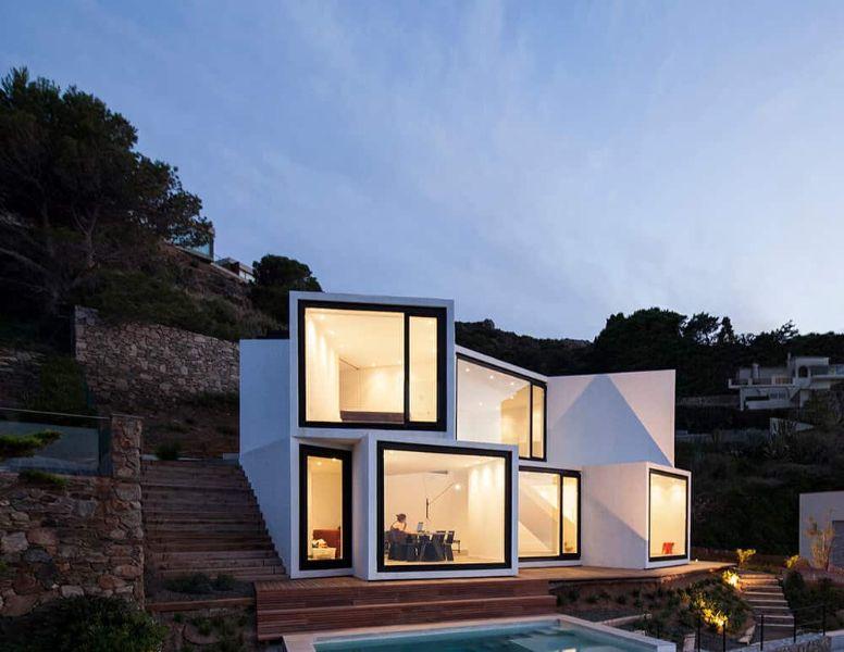 ventanas grandes en casas modernas