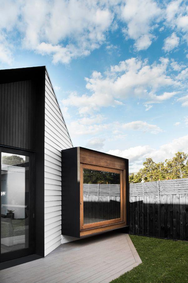 ventanas grandes en casas para jardines