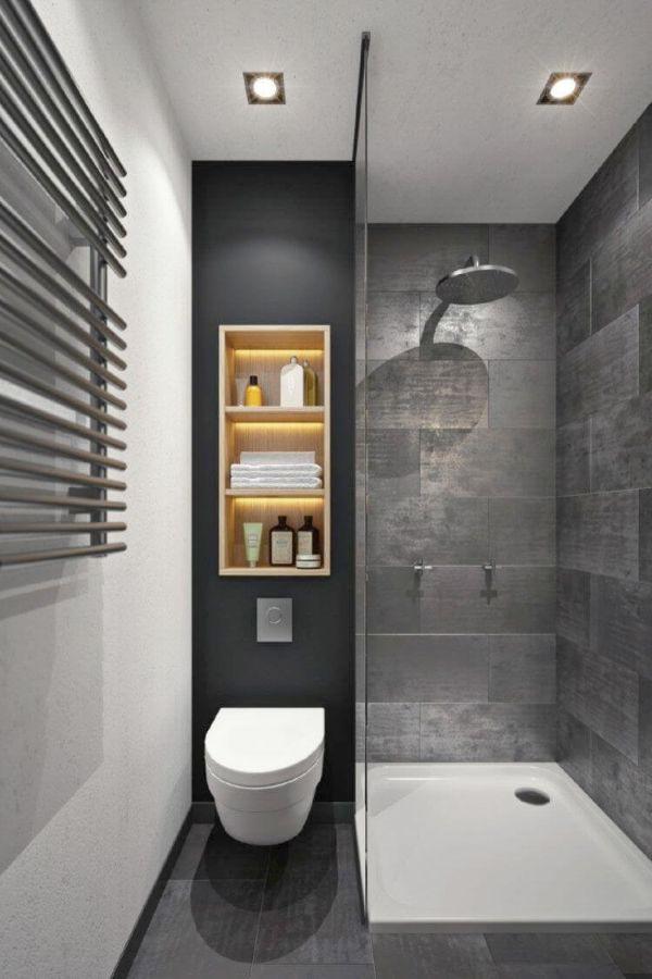 baños modernos pequeños 2020 completa utilidad del espacio