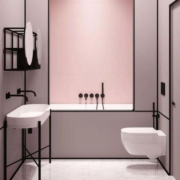 baños modernos pequeños 2020 elegancia