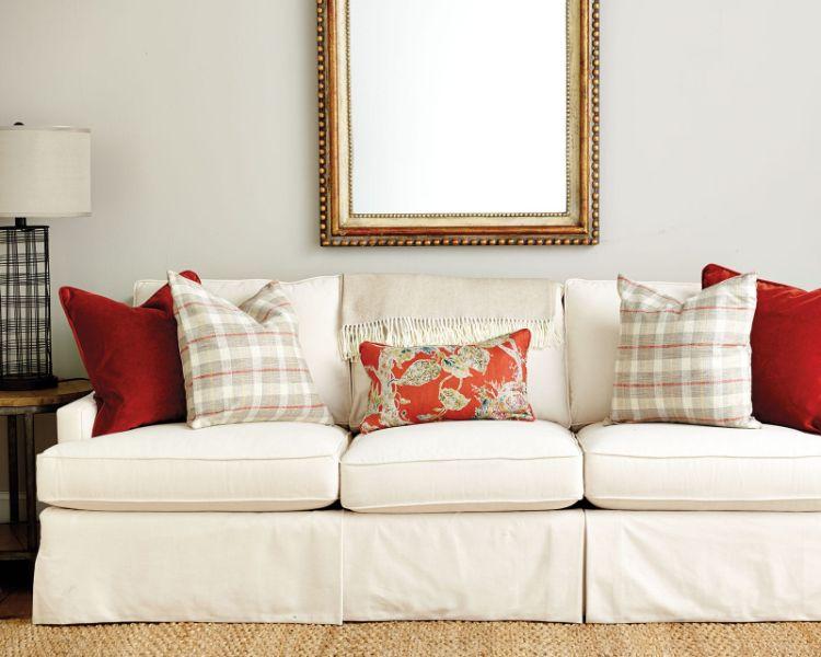 cojines para muebles de sala de diferentes tamaños