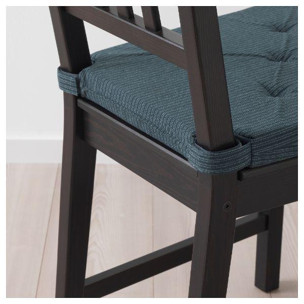 cojines para sillas de madera sujetador de velcro