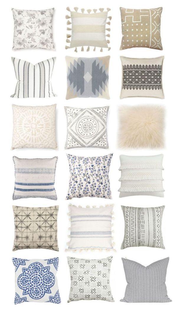 cojines para sofa gris diseños