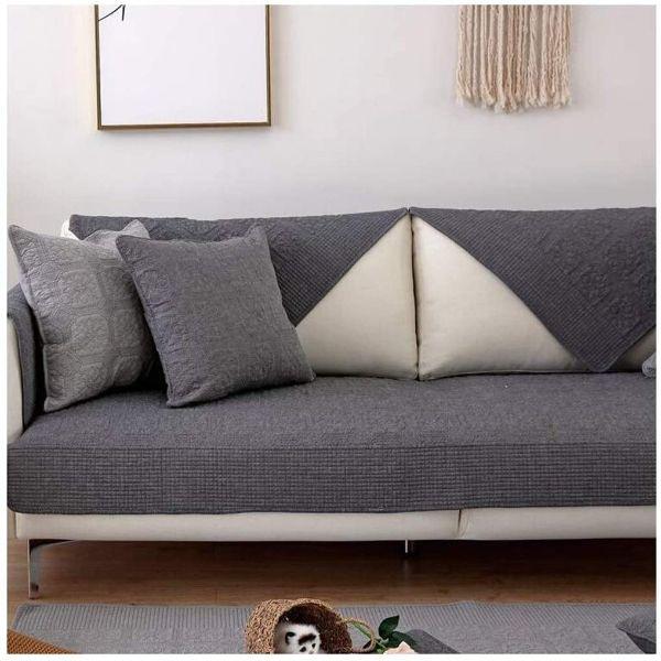 cojines para sofa gris oscuro para crear efectos