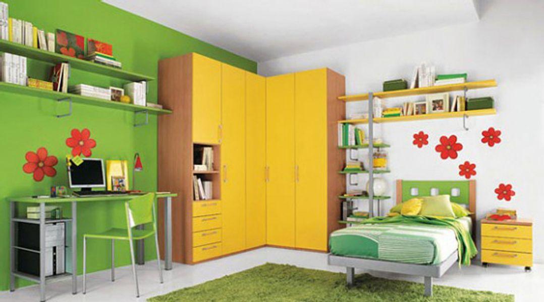color de habitacion para niños calidos