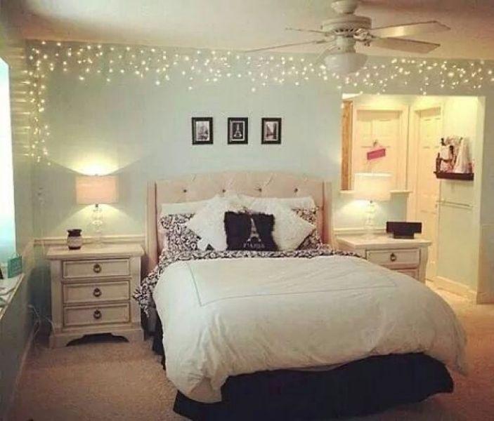 cuartos para mujer joven decorados