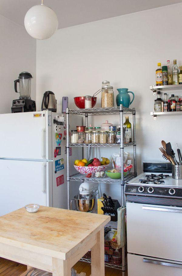 decoraciones de cocinas pequeñas organizacion