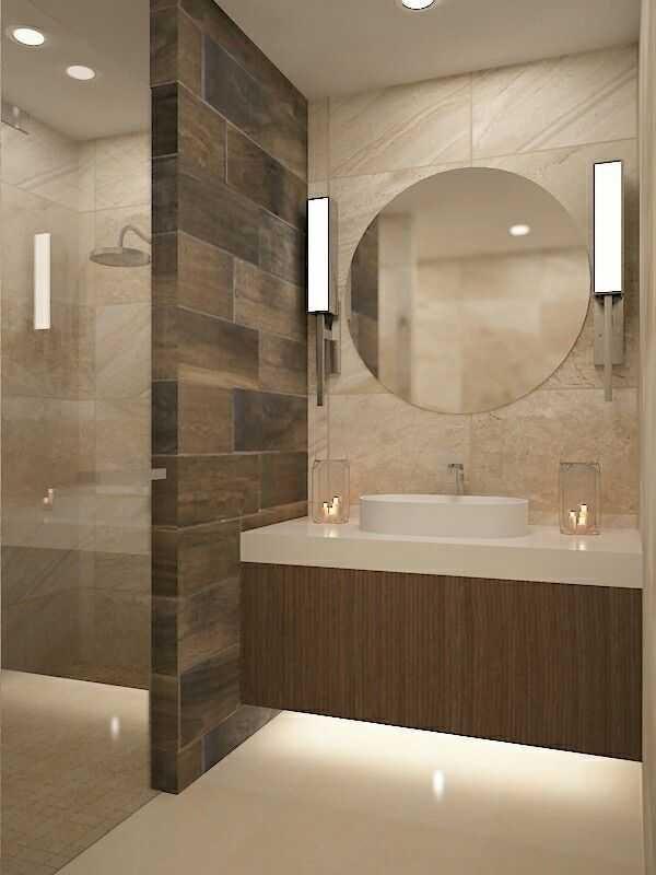 modelos de enchapados de baños elegancia