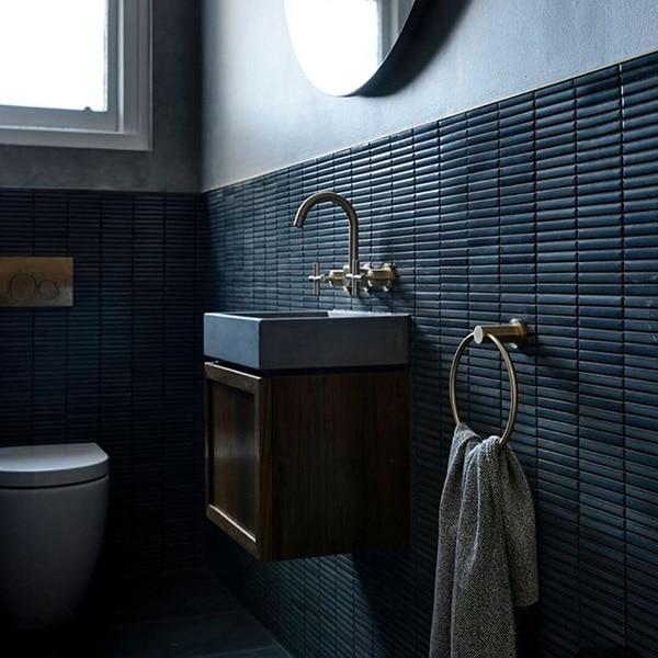 modelos de enchapados de baños texturas