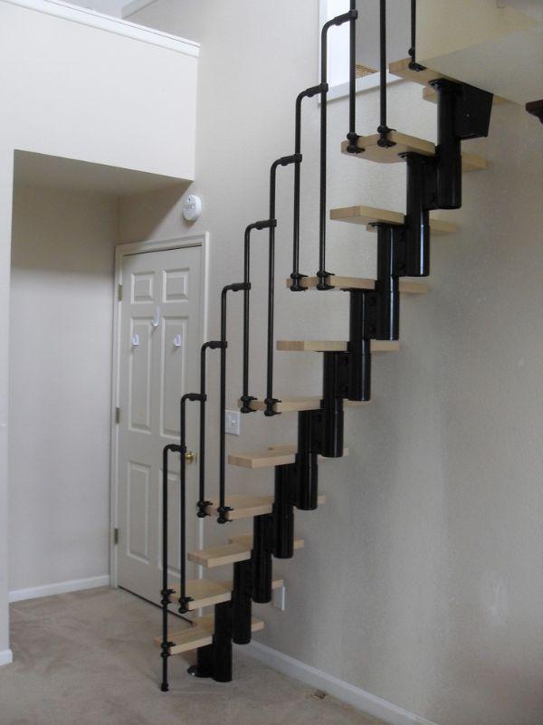 modelos de escaleras para segundo piso caracol
