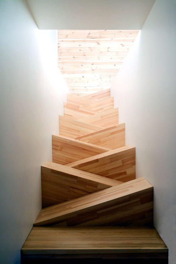 modelos de escaleras para segundo piso modernas y artisticas