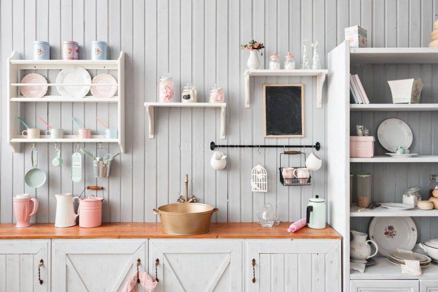 repisas para cocinas pequeñas excelente organización