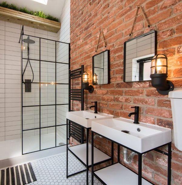 baños estilo industrial muebles minimalistas