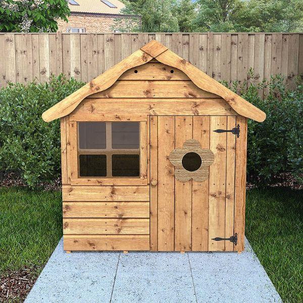 casitas de madera para niños para jardín